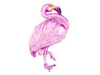 Balon foliowy Flaming - 70 x 95 cm - różowy
