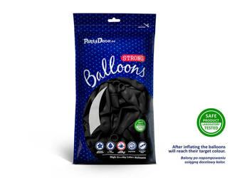 Balony Strong 27cm - Pastel Black - 50 szt.