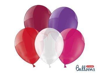 Balony Strong 23 cm - Crystal Mix kolorów - 100 szt.