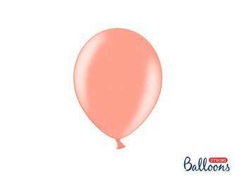Balony Strong 23 cm - Metallic Rose Gold - 100 szt.