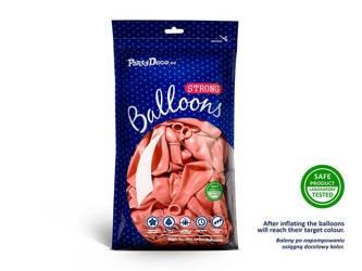 Balony Strong 30cm - Metallic Rose Gold - 50 szt.