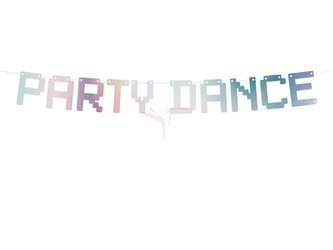 Baner Electric Holo - Party Dance opalizujący - 9.5 x 130 cm