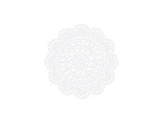 Dekoracje papierowe Rozeta - 5 cm - 10 szt.