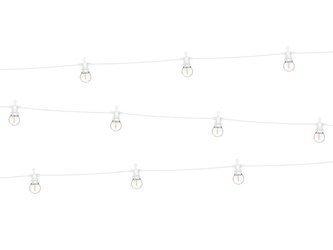 Lampki dekoracyjne LED - 5 m - białe