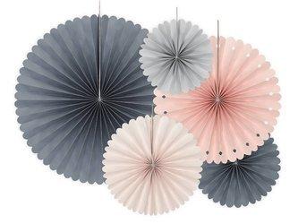 Rozety dekoracyjne - mix - 5 szt.