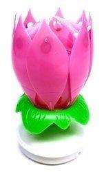 ŚWIECZKA GRAJĄCA – Różowy Kwiatek - TXU455/P - Triplex