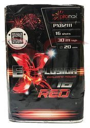 WYRZUTNIA EXPLOSION 16 - RED - PXB2111 - Piromax