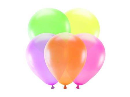 Balony neonowe 25 cm - mix kolorów - 5 szt.