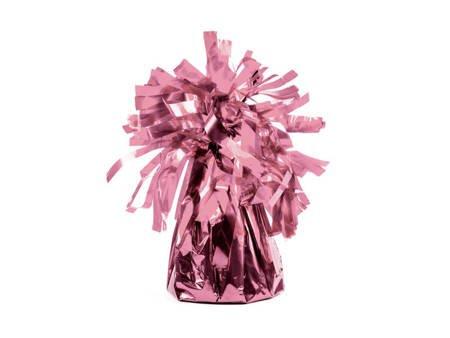 Ciężarek do balonów foliowy - różowe złoto - 4 szt.