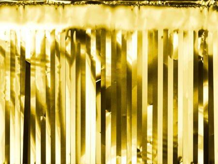 Kurtyna Party złota - 18.5 x 400 cm