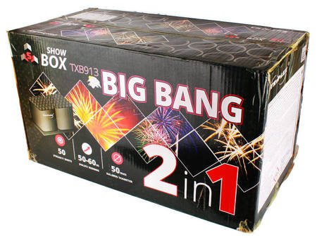POKAZ FAJERWERKÓW BIG BANG - TXB913 - Triplex